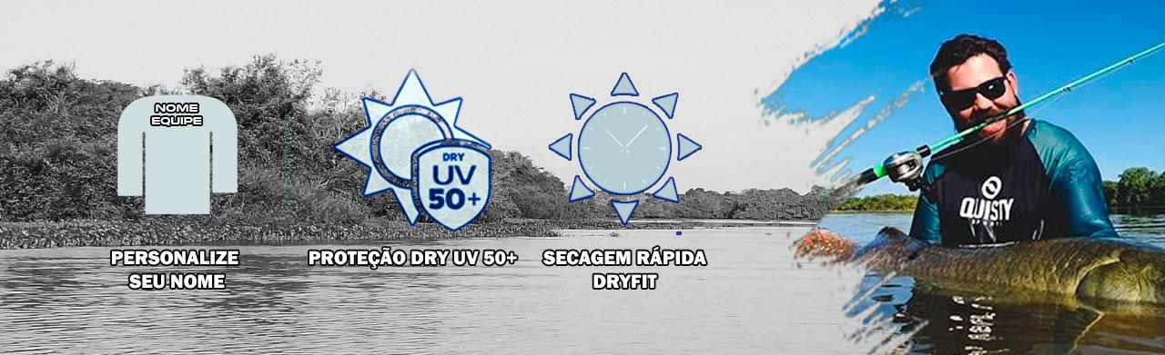 Camisa Perfomance Dry UV 50+