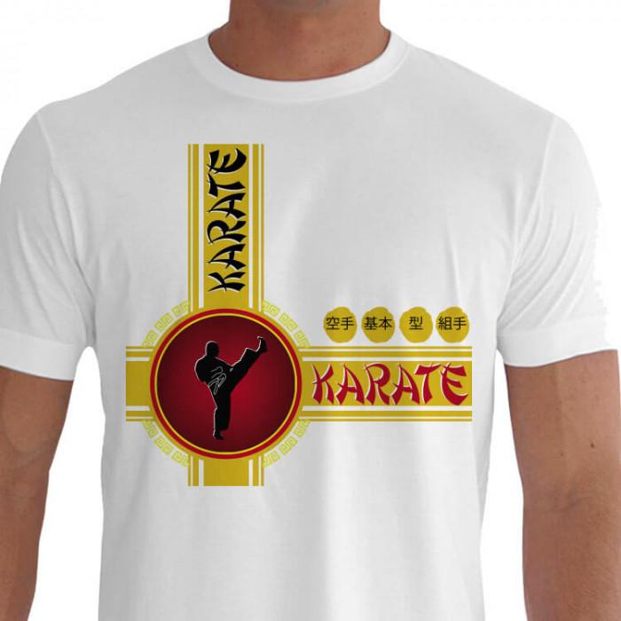 Camiseta - Karatê - Aprimoramento Individual do Karateca Chute Mikazuki Geri Circular Crescente