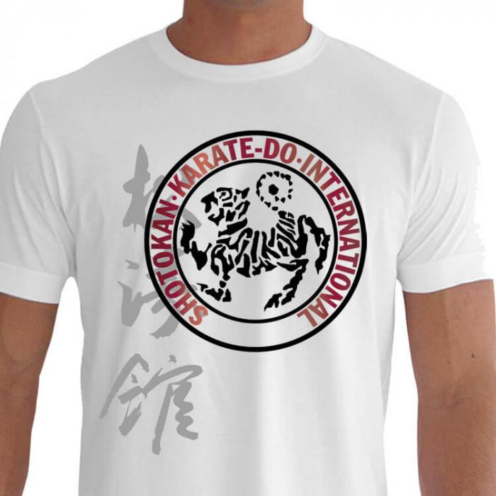 Camiseta - Karatê - Símbolo Internacional Karate Do Shotokan Kanji