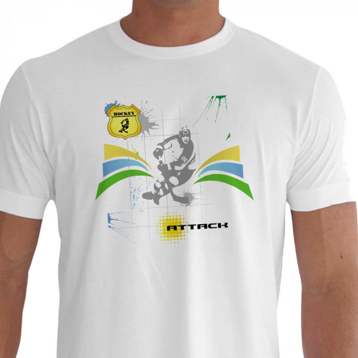 camiseta elz hockey branca