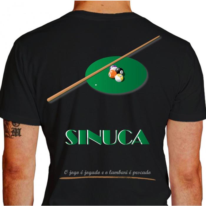Camiseta FQ DS Sinuca - preta