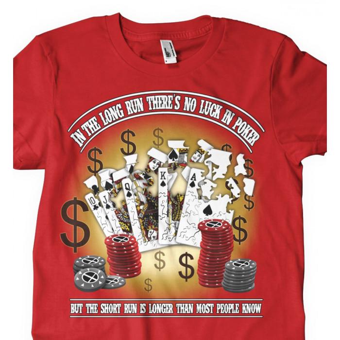 Camiseta Long Run Poker