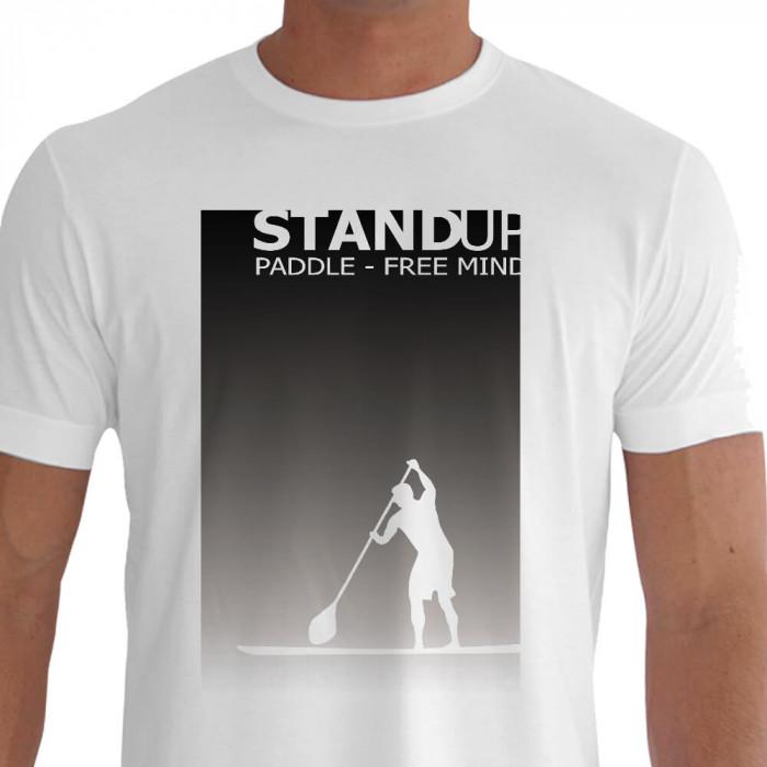 Stand Up Paddle - Remada em Pé em Cima do Pranchão Free Mind