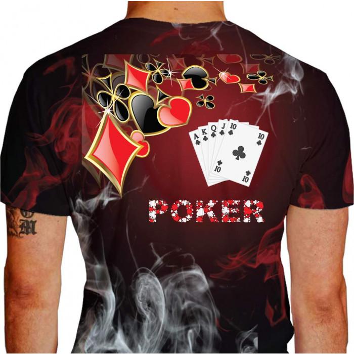 Camiseta NDMAN Poker 2 GRD Cor Única