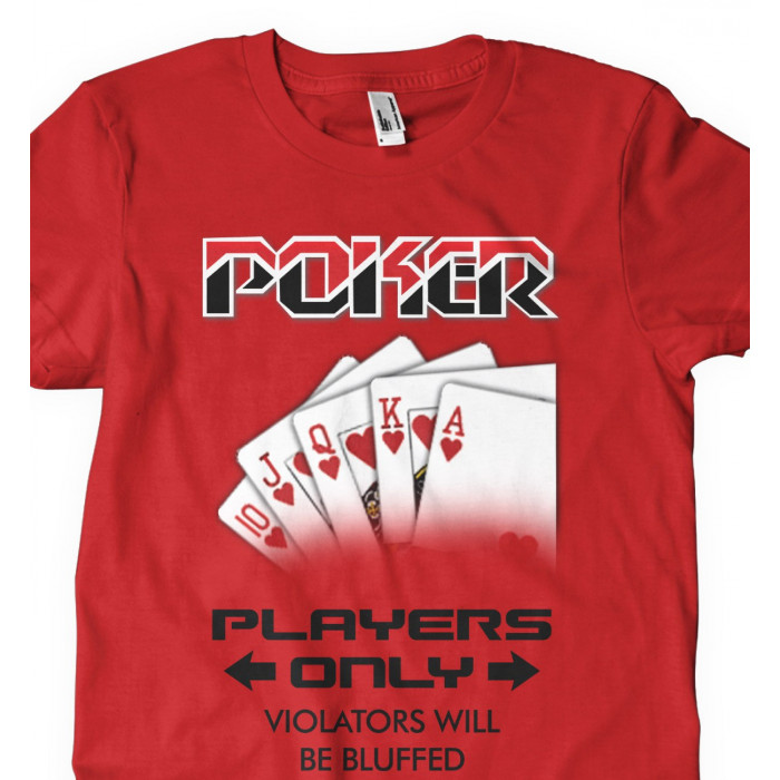 Camiseta Players Only Poker
