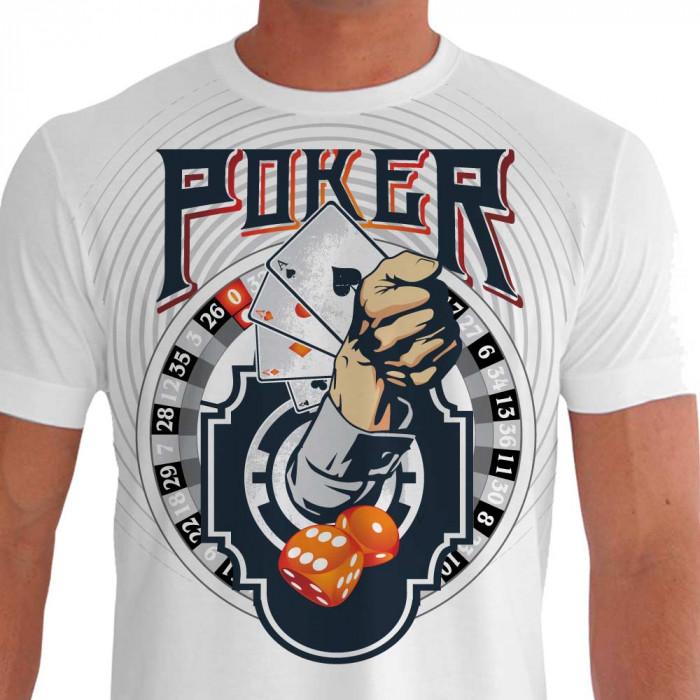 Camiseta Poker Cassino Poker
