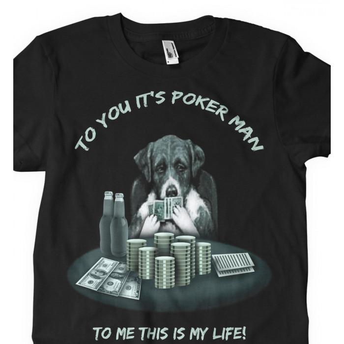Camiseta Poker Man Poker
