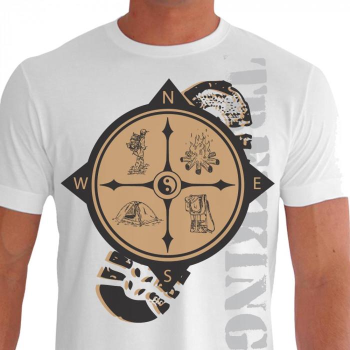 Camiseta - Trekking - This is Living Frente Branca