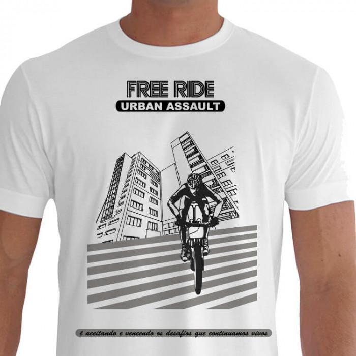 camiseta free ride assault mountain bike