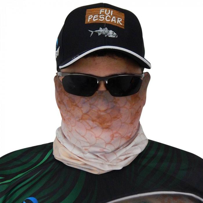 Máscara de Proteção Solar Carpa Cabeçuda UV Protection
