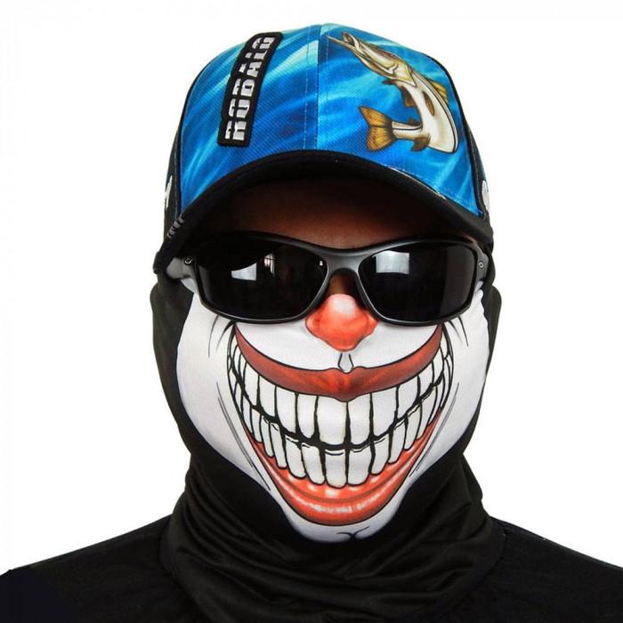 Máscara de Proteção Solar Palhaço UV 50 PROTECTION - Pesca Esportiva Frente