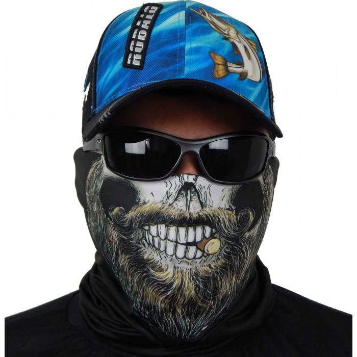 Máscara de Proteção Solar Barba UV 50 PROTECTION Frente Pescador Barba