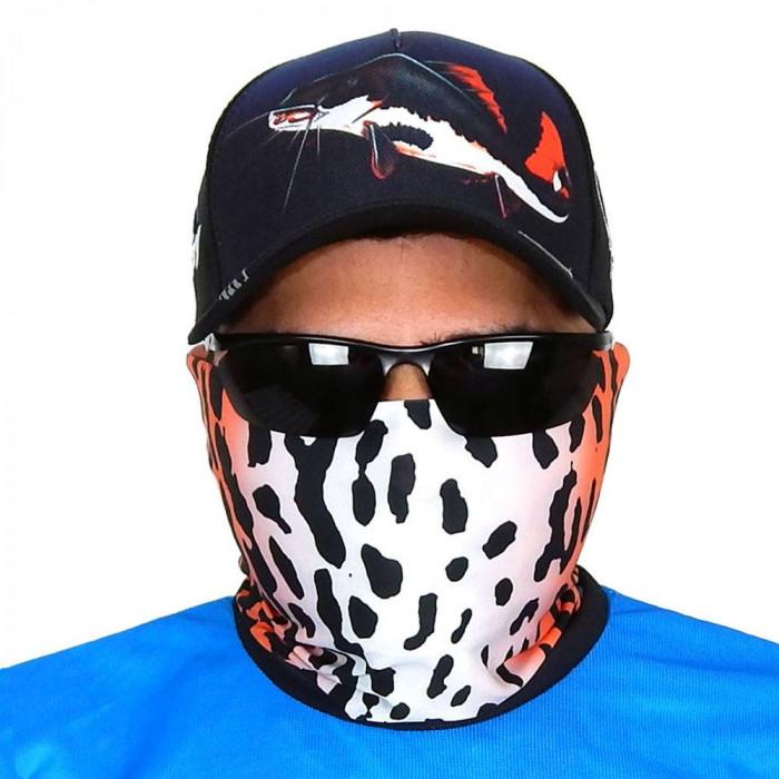 Máscara de Proteção Solar Escamas Pirarara UV 50 PROTECTION - Pesca Esportiva