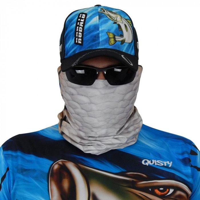 Máscara de Proteção Solar Escamas Robalo UV 50 PROTECTION - Pesca Esportiva