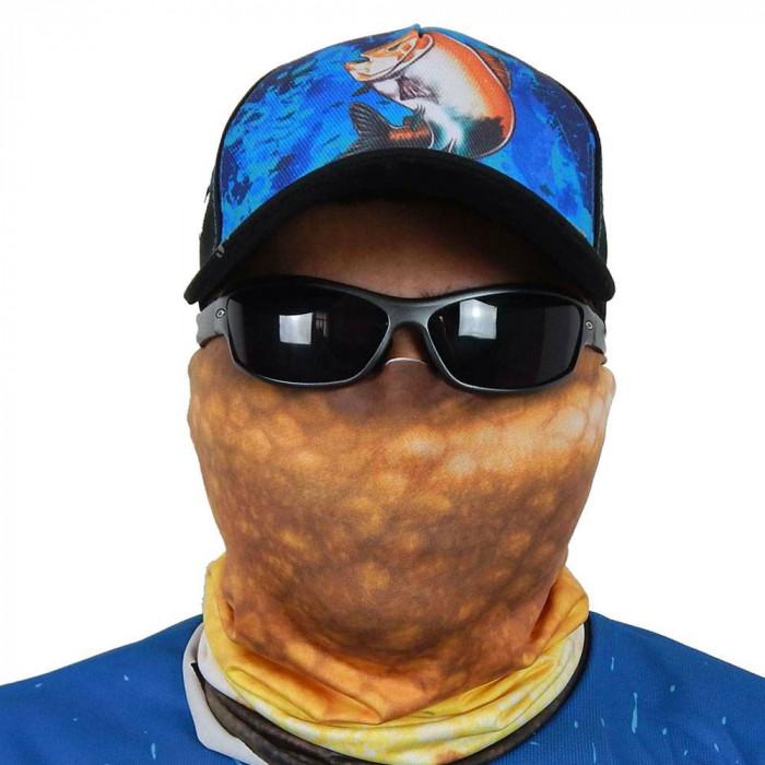 Máscara de Proteção Solar Escamas Tambaqui UV 50 PROTECTION - Pesca Esportiva