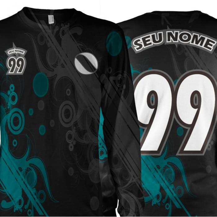 Camisa Personalize Nome e Nº Arte Seta