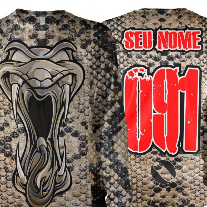 Camisa Personalize Nome e Nº Pele de Cobra