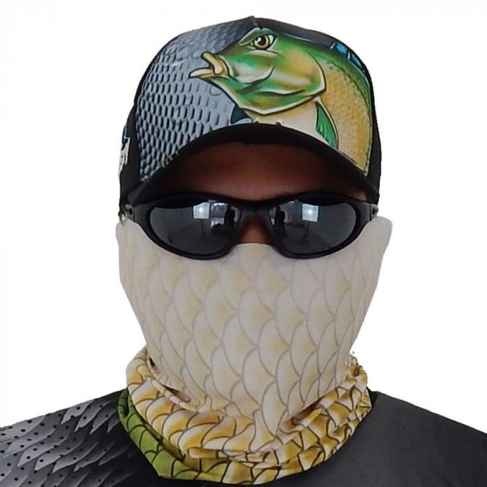 Máscara de Proteção Solar Escamas Tilápia UV 50 PROTECTION - Pesca Esportiva