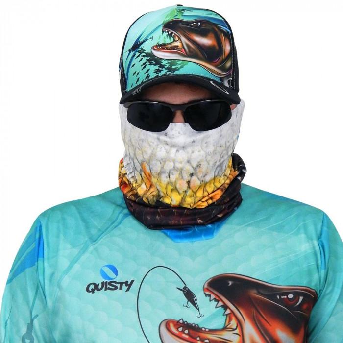 Máscara de Proteção Solar Escamas Traíra UV 50 PROTECTION - Pesca Esportiva