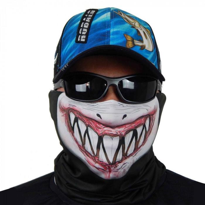 Máscara de Proteção Solar Tubarão UV 50 PROTECTION - Pesca Esportiva