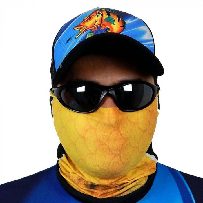 Máscara de Proteção Solar Escamas Tucunaré UV 50 PROTECTION - Pesca Esportiva