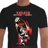 Camiseta - Karatê - Sensei Soco Alto Espírito Físico e Técnica