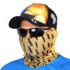 Pescador Máscara de Proteção Solar Escamas Dourado o Rei do Rio