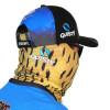 Pescaria Máscara de Proteção Solar Escamas Dourado o Rei do Rio