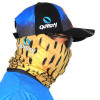 Máscara de Proteção Solar Escamas Dourado o Rei do Rio