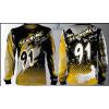 Camisa Forza Series Motocross Amarela