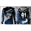 Camisa Forza Series Motocross Azul