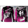 Camisa Forza Series Motocross Rosa Pink