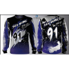 Camisa Forza Series Motocross Roxa