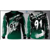 Camisa Forza Series Motocross Verde