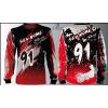 Camisa Forza Series Motocross Vermelha 2