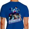 Camiseta - Corrida - Corredor de Rua Prédio Asfalto Costas Azul