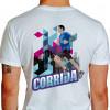 Camiseta - Corrida - Corredor de Rua Prédio Asfalto Costas Branca