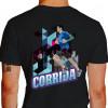 Camiseta - Corrida - Corredor de Rua Prédio Asfalto Costas Preta