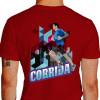 Camiseta - Corrida - Corredor de Rua Prédio Asfalto Costas Vermelha