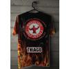 Camiseta - Jiu-Jitsu - Tá no Inferno Abraça o Capeta Joga no Chão e Finaliza Costas Cabide Personalizado