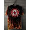 Camiseta - Jiu-Jitsu - Tá no Inferno Abraça o Capeta Joga no Chão e Finaliza Costas Cabide