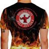 Camiseta - Jiu-Jitsu - Tá no Inferno Abraça o Capeta Joga no Chão e Finaliza Costas