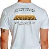 Camiseta - Corrida - Pista de Atletismo Raias Mens Sana in Corpore Sano Atleta Costas Branca