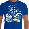 Camiseta - Mergulho - Corra pra ver Enquanto Eles Ainda Não Foram Extintos Natureza Aquática Frente Azul