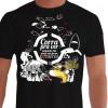 Camiseta - Mergulho - Corra pra ver Enquanto Eles Ainda Não Foram Extintos Natureza Aquática Frente Preta