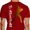 Camiseta - Beisebol - Rebatedor Posição de Tacada Costas Vermelha