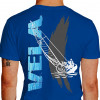 Ilustração Texto Efeito Água Vejeladores Veleiro Vento - azul