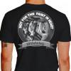 Camiseta - Spinning - Foto Treino Academia Frase Not For The Faint in Heart Costas Preta