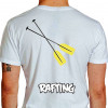 camiseta hgf rafting - branca