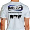 Camiseta - Corrida - Treino Diversos Atletas Correndo Cansar o Corpo e Descansar a Mente Costas Branca